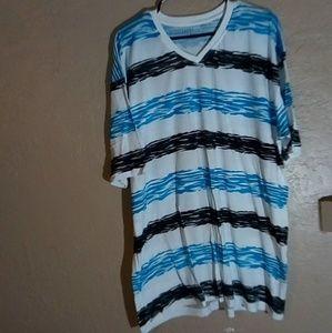 Sketch stripe t shirt